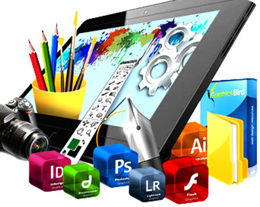 Grafica professionale per progetti digitali